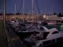 Vigo Hafen am Abend